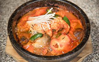 旧金山韩国餐馆 JANG SOO BBQの秘制鳕鱼