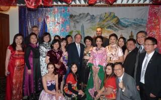 7月1日,2016台湾美食节在悉尼香格里拉饭店隆重推出,一些政要、侨界领袖等与会共襄盛举。(大纪元)