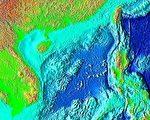 外界认为,南海裁决结果或令南海紧张局势进一步升级。图为南海(维基百科公有领域)