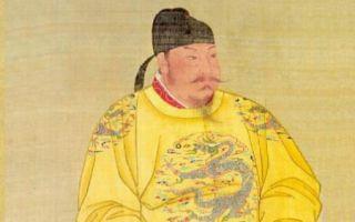 唐太宗画像(公有领域)