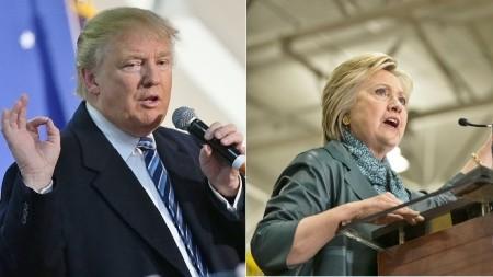 川普(图左)与希拉里(图右)两人在各项议题上政见大不同。(Getty Images/大纪元合成图)