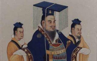 汉武帝画像(公有领域)