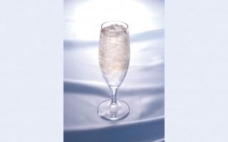 日本酒×碎冰塊(日本酒造組合中央会提供)