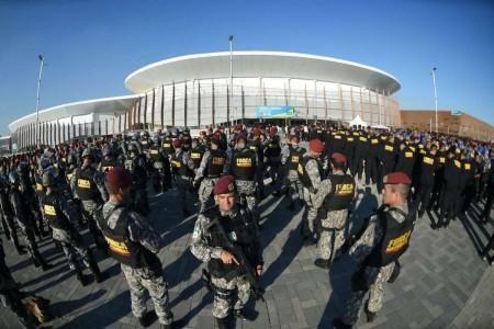 国家安全部队接管里约安保。(AFP)