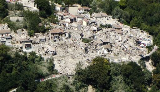 意总理承诺投入5000万欧元 援助地震灾区