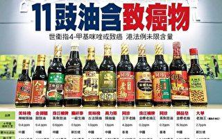 香港曝11醬油含致癌物