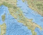 美国地质调查所与法新社记者说,规模6.2地震24日摇撼意大利中部,约150公里外的罗马也有感。(图取自USGS网站earthquake.usgs.gov/)