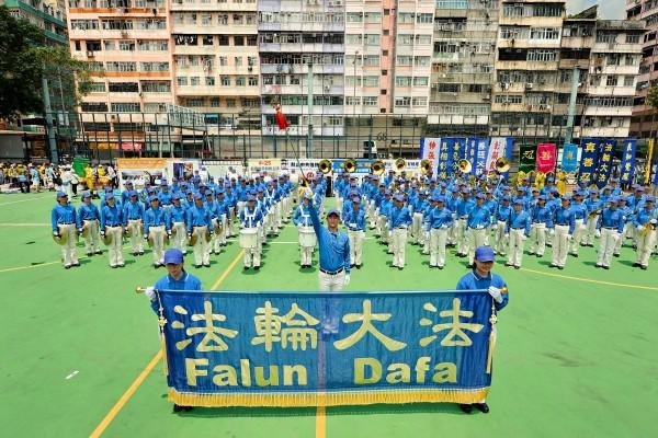香港法轮功游行 吁全球联手制止中共活摘