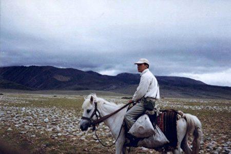 趙明1997年遊西藏旅遊照。(大紀元)