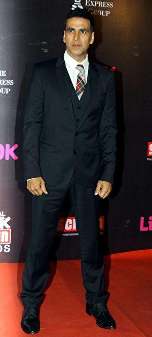 阿克谢‧库玛尔(Akshay Kumar)。 (STRDEL/AFP/Getty Images)
