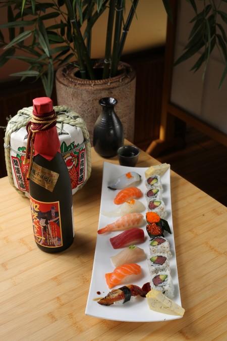 新鲜寿司(摄影:张学慧/大纪元)