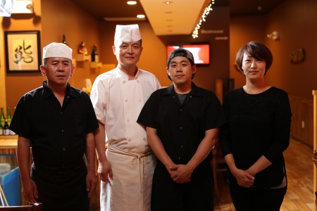 KYO Izakaya强大的厨师和管理团队。(摄影:张学慧/大纪元)
