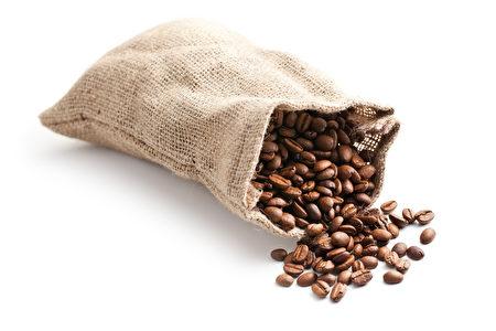咖啡豆的麻袋(fotolia)
