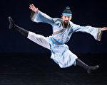 """第七届""""全世界中国古典舞大赛""""8月1日在台北举行,少年男子组选手上场表演。李邦比赛风采。(白川/大纪元)"""