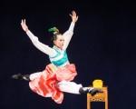 """新唐人第七届""""全世界中国古典舞大赛""""8月1日在台北举行,图为少年女子组参赛选手范徽怡表演。(陈柏州/大纪元)"""