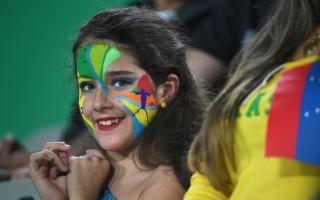 组图:里约奥运 各国粉丝热情助阵