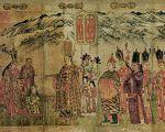 南宋时期大理国画家张胜温所绘《大理国梵像》局部,现藏台北故宫博物院。(公有领域)