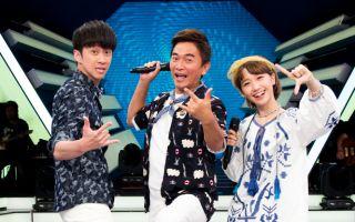 《綜藝大熱門》主持人吳宗憲(中)、漢典(左)、LULU。(三立提供)