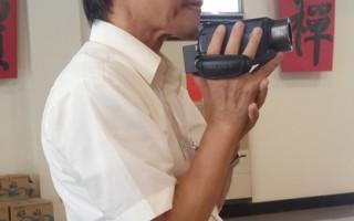 日本筑波大学教授松本浩一(图),专程来台了解台湾的普渡习俗。他专研中国宋、元时期道教普渡仪式,近年更对台湾佛教、道教在普度文化及祭祀仪典的异同,有高度兴趣。(寰宇人物提供)