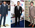 深灰色西装和黑色西装配黑皮鞋最理想,棕色西装最好配不同色调的棕色皮鞋,一定不要配黑皮鞋。(Getty Images/大纪元合成)