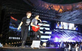五月天大陆巡演首站 北京场票房再刷新纪录