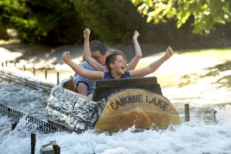 Canobie Lake乐园 清凉消暑最佳去处