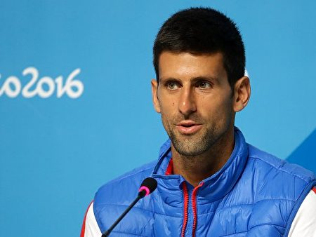 塞尔维亚网球手德约科维奇(Novak Djokovic)。(Chris Graythen/Getty Images)