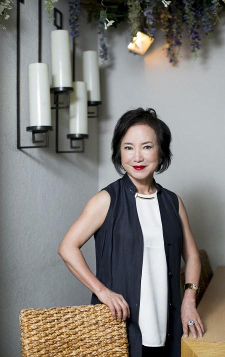 """被誉为""""美食达人""""的missKOREA餐厅老板Sophia Lee女士。(Samira Bouaou/大纪元)"""