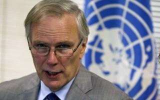 联合国人权特派专员菲利普.奥尔斯顿(Philip Alston)告诉路透社记者,北京干扰他在中国大陆的工作。图为奥尔斯顿。(PABLO COZZAGLIO/AFP/Getty Images)
