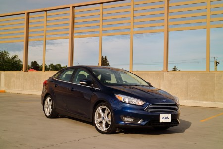 2016 Ford Focus。〈李奥/大纪元〉