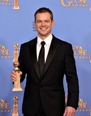马特‧达蒙(Matt Damon)。(Kevin Winter/Getty Images)