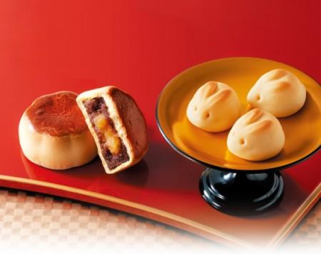 """""""源吉兆庵""""精品日式月饼。(源吉兆庵提供)"""