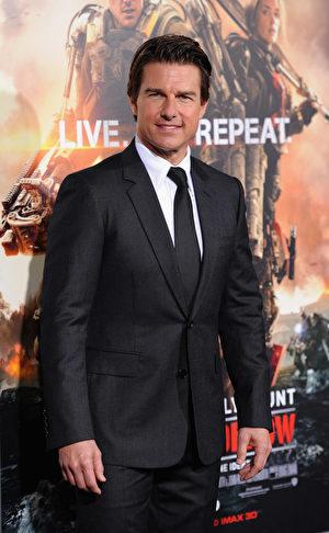 汤姆‧克鲁斯(Tom Cruise)。 (Dimitrios Kambouris/Getty Images)