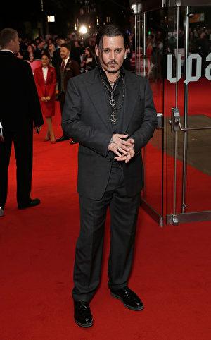 约翰尼‧德普(Johnny Depp)。 (John Phillips/Getty Images for BFI)