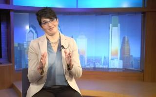 Comcast網路基本服務項目高級主管 Karima Zedan希望更多少數族裔民眾了解這一優惠計劃。 (韓瑞/大紀元)