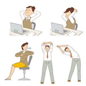 昆士兰大学研究证实,久坐期间只要起身动的机会愈多,C反应蛋白愈少,腰部也愈细。科学家解说有些人并不特别节制饮食,也不从事激烈运动,但他们常常起身走动,而非窝在椅子上数小时,因此不易发胖。(Fotolia)
