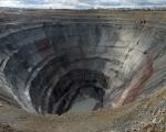 俄罗斯西伯利亚东部的米尔矿场(Mir mine)蕴藏大量钻石,堪称是全世界最昂贵的矿洞。(维基百科公有领域)
