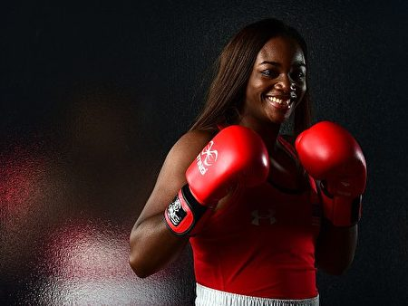 美国女拳击手希尔兹(Claressa Shields)。(Harry How/Getty Images)