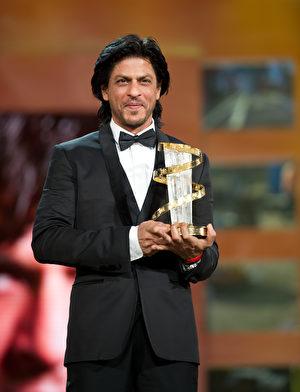 沙鲁克‧罕(Shah Rukh Khan)。 (Dominique Charriau/Getty Images)