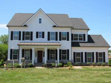 马州Poolesville社区的Brooke两种房型。(图片来源:Churchill Classics)