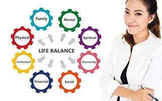繁忙的生活中 尋找身心平衡