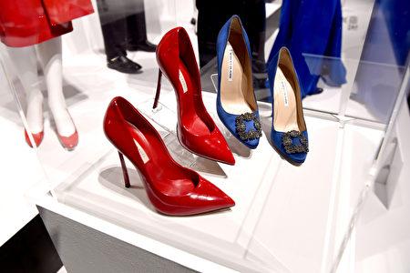 美剧中的女式高跟鞋。(Photo by Kevin Winter/Getty Images)