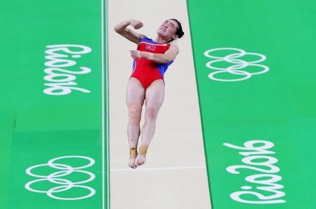 8月7日, 洪恩貞在里約奧運比賽中。(Gettyiamges)