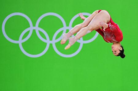 美国体操运动员Alexandra Raisman。(Harry How/Getty Images)