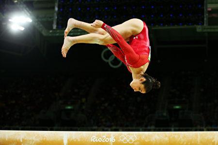 美国体操运动员Alexandra Raisman。 (Alex Livesey/Getty Images)