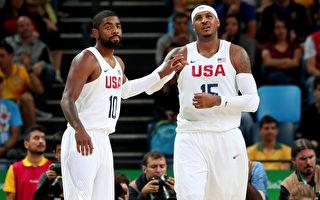 奥运男篮 美国梦幻队只赢3分 惊险4连胜