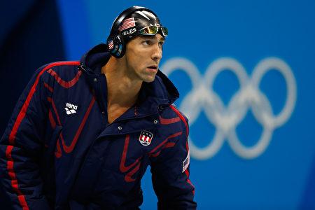 """美国""""飞鱼""""菲尔普斯(Michael Phelps)这次铁了心,里约奥运后,就要高挂泳帽退休了。(Clive Rose/Getty Images)"""