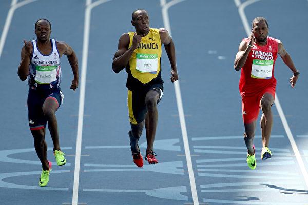 奧運男子100米 「閃電」博爾特預賽拿第1