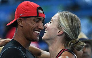 組圖:盤點里約奧運的夫妻情侶檔