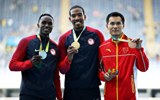 奥运男子三级跳 美国泰勒卫冕中国董斌夺铜